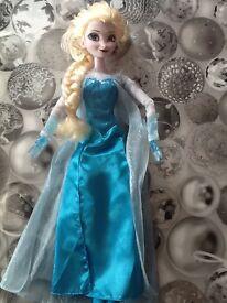 Genuine disney elsa doll - sings 'let it go'