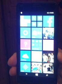Microsoft Lumia Rm1072 as new unlocked but no box or charger