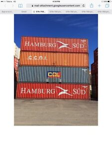 Shipping containers 40' GP b/grade delivered Goulburn Goulburn City Preview
