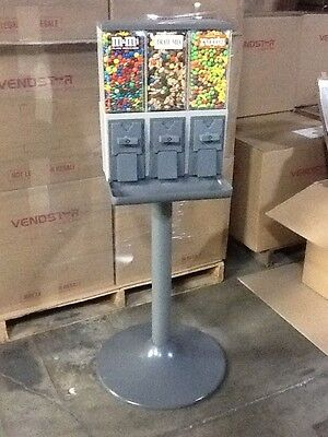 4 New Vendstar 3000 Vend3 Candy Vending Machines Wlockskeys Best Deal On Ebay