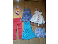 Bundle of girl clothes age 6-7 years