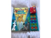 DISNEYS ANIMAL FRIENDS MOVIE THEATRE SET BOOK