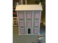 Large 4 story doll house with extras