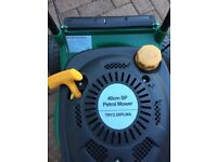 B and Q petrol lawnmower 40 cm blade