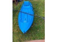 2 x Sit-on-top Hard Kayaks including Paddles