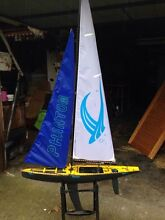 Remote control sailing boat 1 m long 2 m high Moe Latrobe Valley Preview