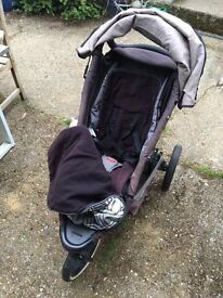 Phil & Teds buggy well loved but in good condition.