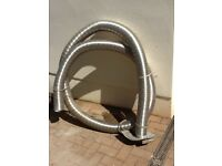 Stainless Steel Chimney Liner 5 metres long x 100mm diameter