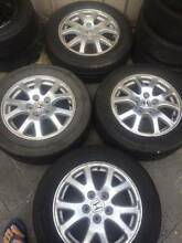 """16x6.5"""" Honda Odyssey Alloy wheels with tyre Newton Campbelltown Area Preview"""
