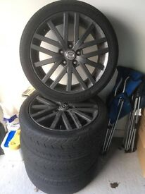 Mazda 6 MPS wheels with Tyres
