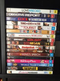 MAKE AN OFFER!!! Range of DVDs Movies and TV Series / Seasons Bayswater Knox Area Preview