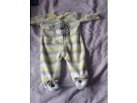 Baby sleep suits all different sizes all very good condition.