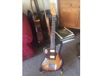 Left Handed Fender Kurt Cobain Road Worn Jaguar w/Hard Case