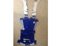 Chelsea FC football kit, age 11/12 years