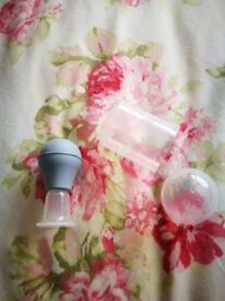 Lansinoh latch assist & Medela nipple shields