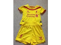 Liverpool replica kit 9-12 months