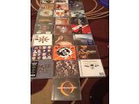Metal cd's varied artists 3 for £5