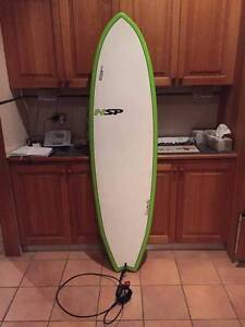 """surfboard NSP fish 6'4"""" Frenchs Forest Warringah Area Preview"""