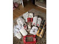 Full cricket equipment - adult