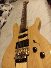 Shine neck-thru super-strat SIT-80