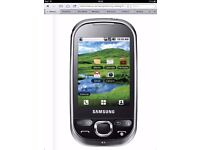 Brand New Samsung Galaxy Europa GT-i5500 Mobile Phone On Three