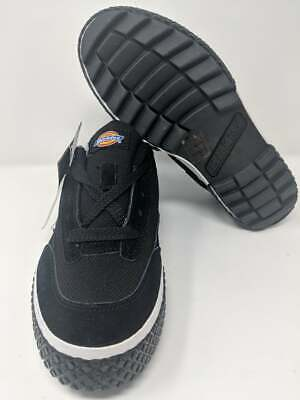 New Men's Dickies Skater Shoes Vulcan # C4025 Black and White Size-7- -