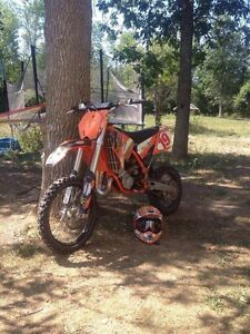 Trade my Ktm 85sx plus cash for a 250 or 125 two stroke
