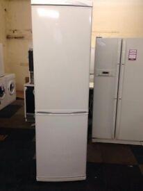 white daewoo frost free fridge freezer