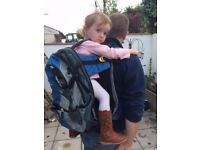 Baby Carrier / backpack - good harness system