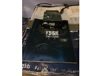 Y56k Waves plug-in card for Yamaha mixers not akai emu roland neve ssl