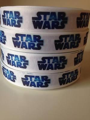 "Star Wars Ribbon 7/8"" Wide NEW UK SELLER FREE P&P"