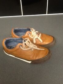 Boys next leather shoes
