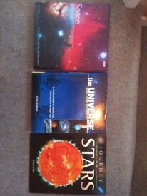 Journey to the stars + The universe and how to see it + Space the final frontier (collection only)