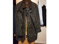 Men's Barbour/vest included in amazing condition/ Newly Waxed( FREE London & Cambridge Delivery)
