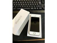 ForSale IPHONE 5S BOXED ON O2 may swap