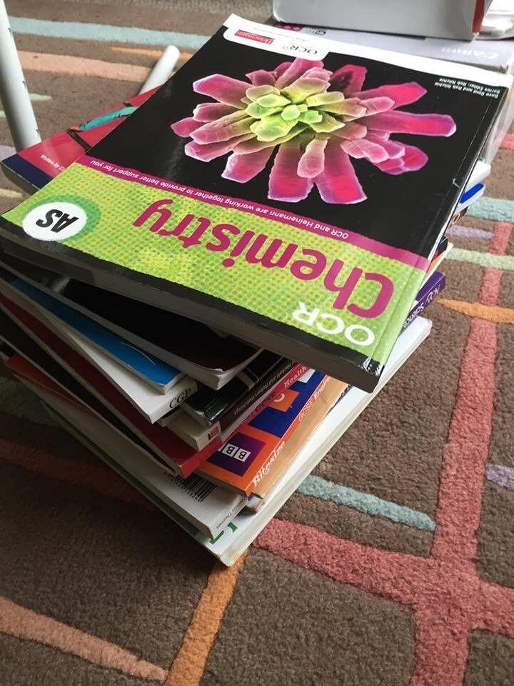 bundle of educational books