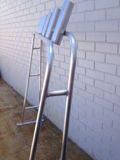 Aluminium rocket launcher/ rod rack/ targa bar