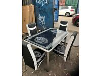 👌👌BRAND NEW MODERN SALE💕💕 ON LOUIS VUITTON EXTENDABLE DINING TABLE AND 6 CHAIRS