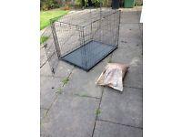Indoor/Outdoor Dog/Animal cage with door