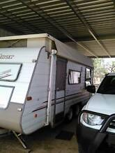 18ft Limited Edition 25th Anniv Sunchaser Windsor Poptop Caravan Rockhampton 4700 Rockhampton City Preview