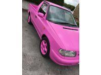 1998 (S) Skoda Felicia 1.6 Pick Up in Pink