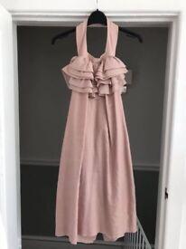 Dusty pink REISS dress