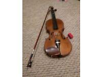 4/4 size violin