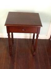 Olde timber side table Penshurst Hurstville Area Preview