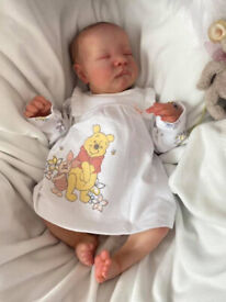 Beautiful Reborn Doll Levi by Bonnie Brown,As New.