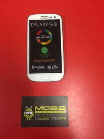 SAMSUNG GALAXY S3 SIM FREE COMES WITH CHARGER AND THREE MONTHS WARRANTY FREE DELIVERY LOCALLY