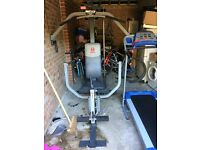 Gym equipment (Multi Gym, Treadmill, Cross Trainer) for sale
