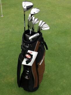 Golf clubs left hand Men's Wilson / Titliest & New Bag