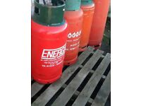 11kg full sealed propane gas bottle red bottle