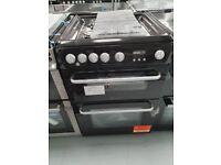 Hotpoint 60cm Gas Cooker Black - Ex display (12 Months Warranty)